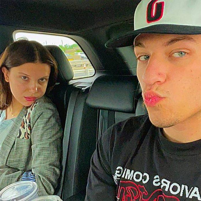 Millie Bobby Brown Steps Out With Jon Bon Jovi's Son Jake Bongiovi - E! Online
