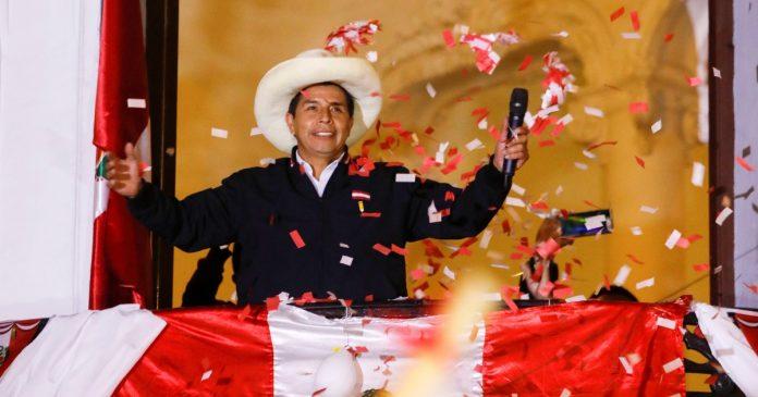 Peru's Pedro Castillo closes in on victory in presidential election