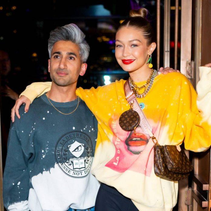 Why Tan France Says Gigi Hadid's Baby Advice is