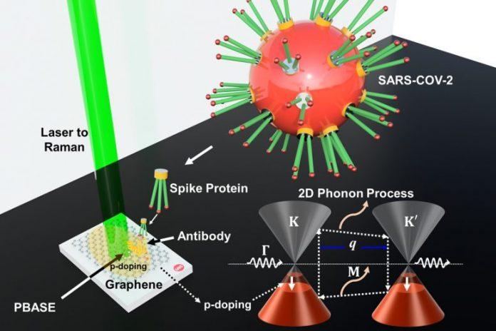 Graphene Sensor COVID Detector