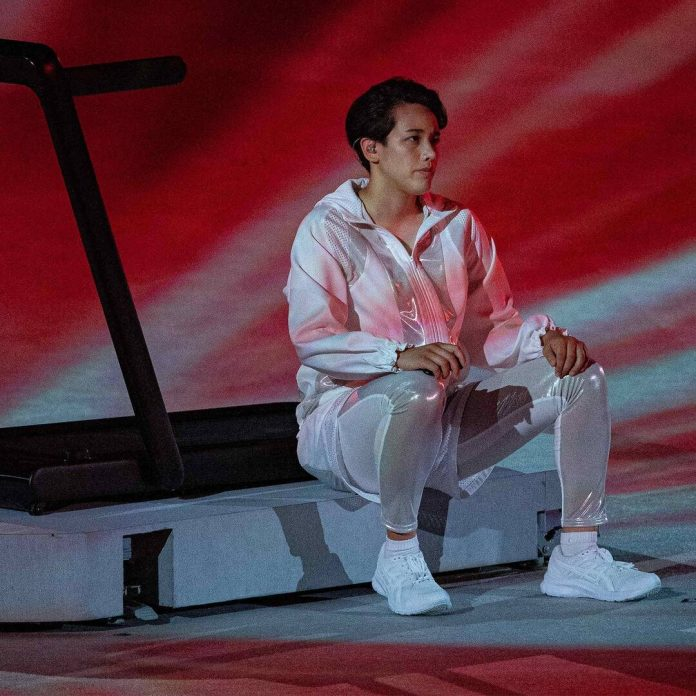 A Treadmill Stole the Show at the Tokyo Olympics Opening Ceremony - E! Online