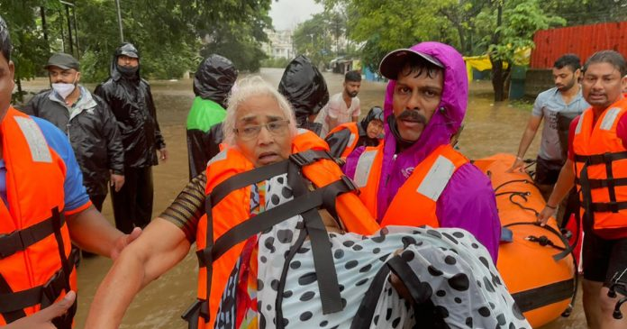 At least 67 dead as monsoon rains trigger floods and landslides in India