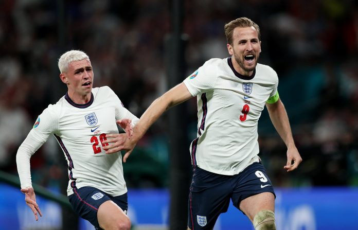England to face Italy in final after beating Denmark 2-1