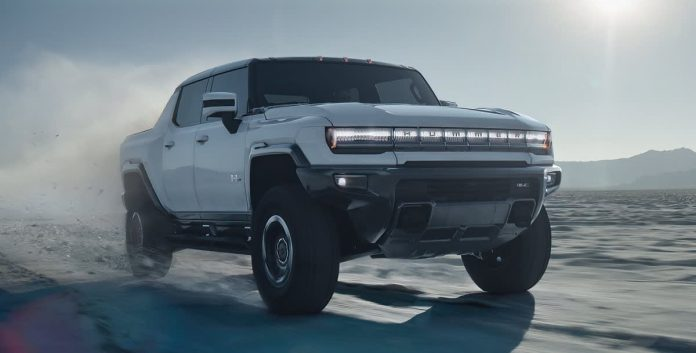 GM confirms third electric pickup truck ahead of Hummer EV production
