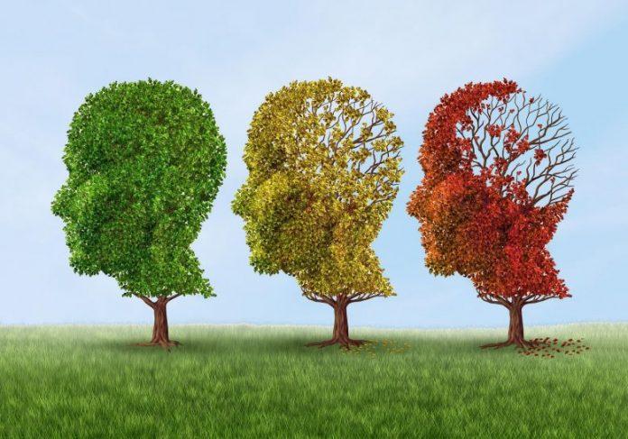Dementia Alzheimer's Abstract Concept