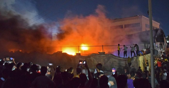 Iraq Covid hospital fire kills 92 people