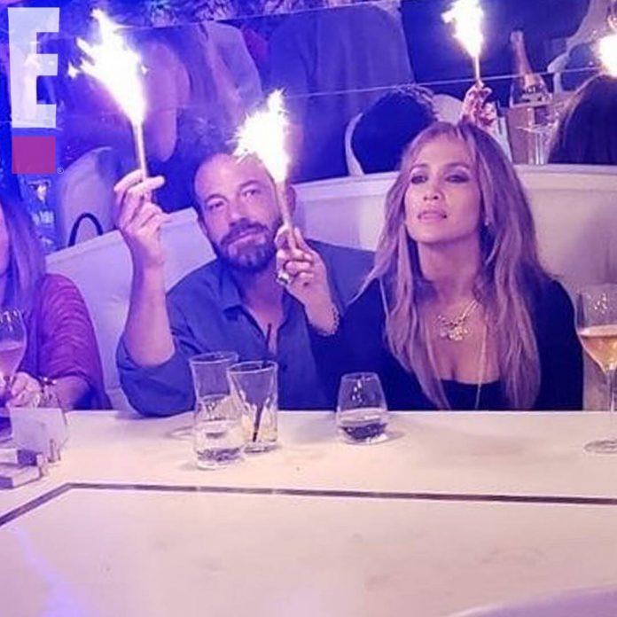 Jennifer Lopez & Ben Affleck Party Like It's 2002 at Her Birthday Bash - E! Online