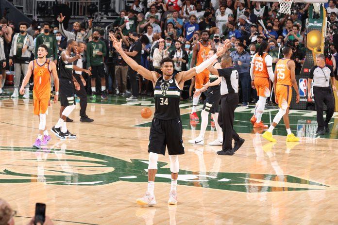 Milwaukee Bucks beat Phoenix Suns to win NBA championship