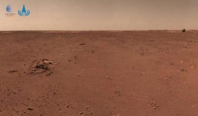 China Zhurong Mars Rover 1