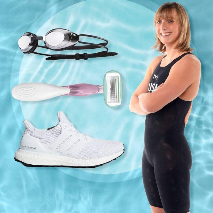 Olympian Katie Ledecky Shares What's In Her Swim Bag - E! Online
