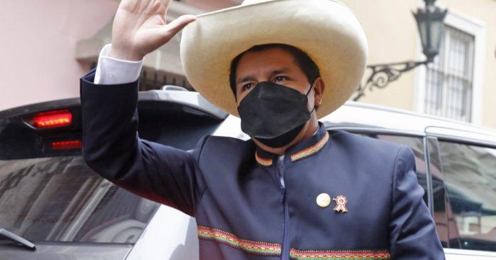 Peru's Pedro Castillo assumes presidency amid political tensions, division