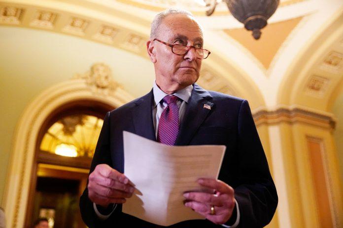 Republicans sink Schumer's test vote on bipartisan infrastructure plan