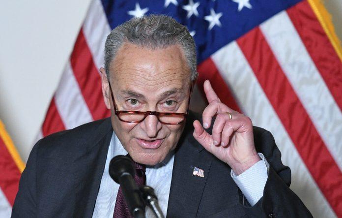 Schumer defends tight infrastructure deadline as GOP threatens to tank key vote