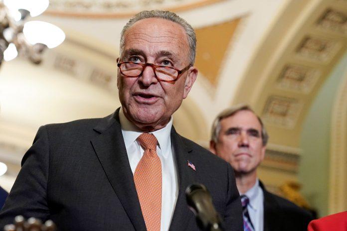 Schumer says Senate to vote on bipartisan bill, budget resolution