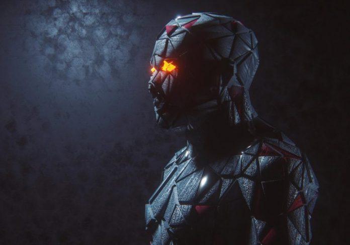 Futuristic Cyborg