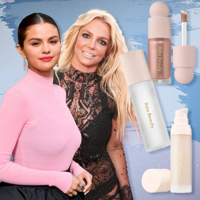 Selena Gomez Surprises Britney Spears with Her Favorite Makeup - E! Online