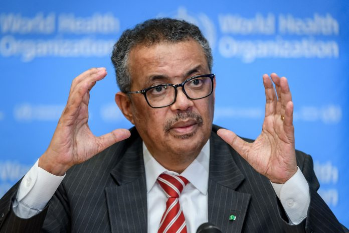 WHO chief addresses IOC in Japan, warns of new Covid wave