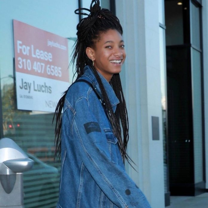 Willow Smith Shaves Her Head During