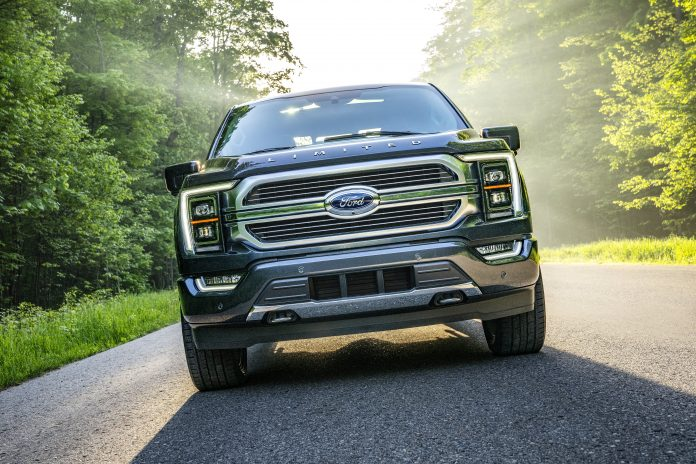 Ford to cut F-150 pickup truck production due to chip shortage
