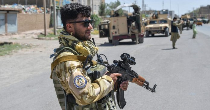 Taliban continues to advance on major cities in Afghanistan, attacks Kandahar airport