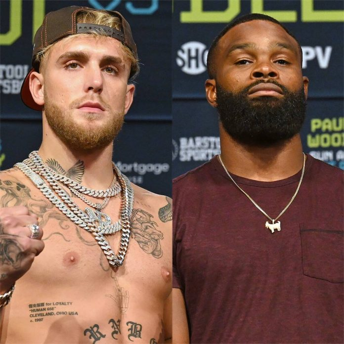 Tyron Woodley Seems to Knock Out Jake Paul With His Words Before Fight