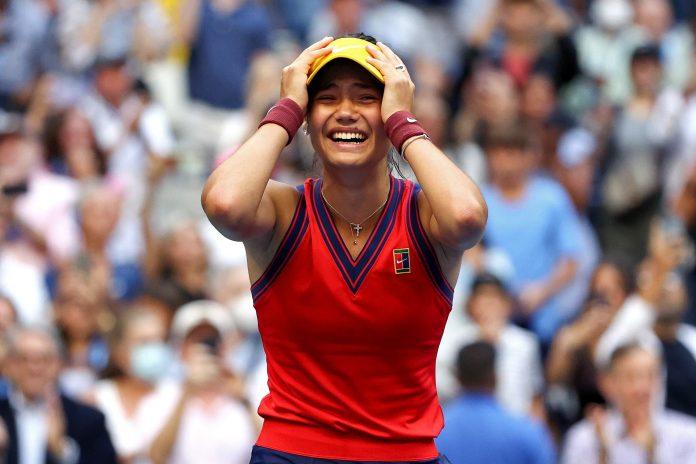 British tennis player wins U.S. Open women's final