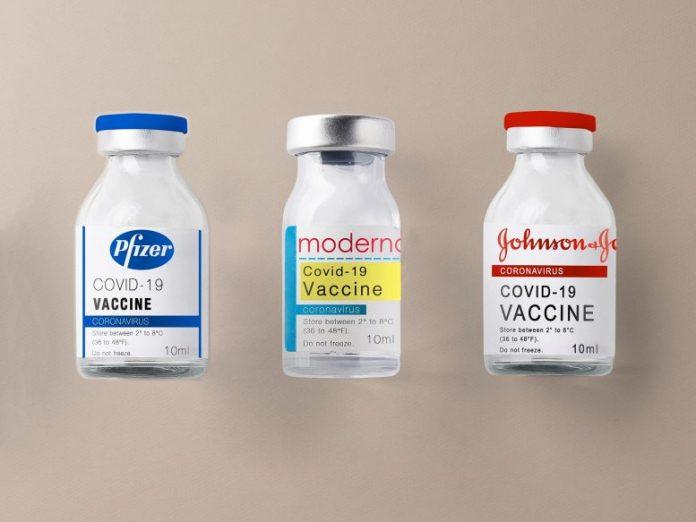 Pfizer Moderna Johnson and Johnson COVID Vaccines