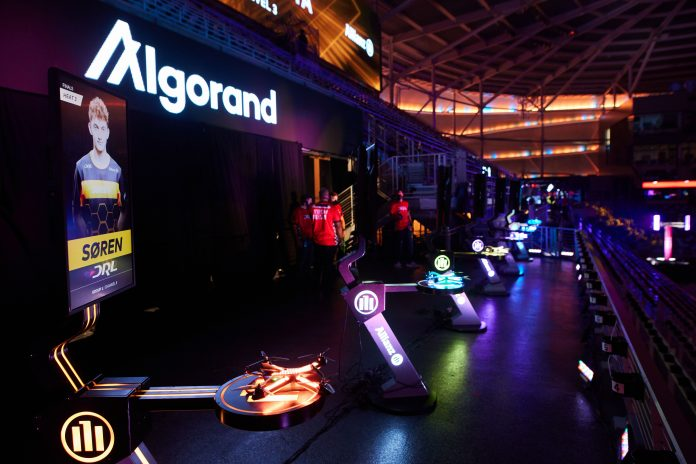Drone Racing League lands $100 million deal with crypto platform Algorand