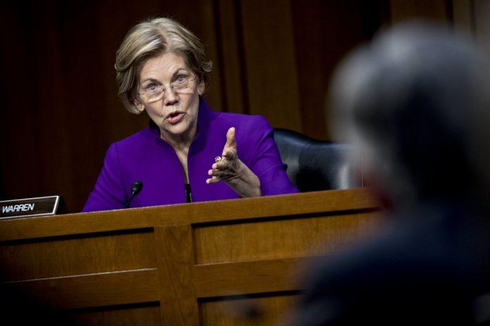 Elizabeth Warren urges Federal Reserve to break up Wells Fargo