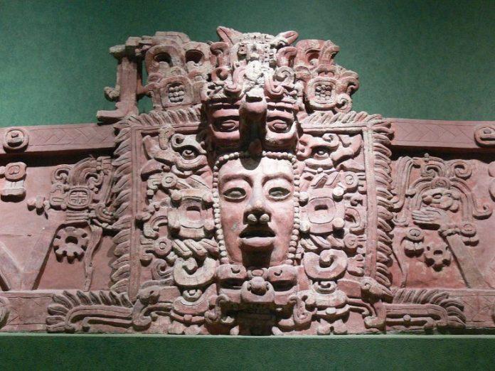 Stucco Frieze Placeres Campeche