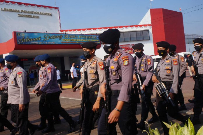 Fire at overcrowded Indonesian prison kills at least 40 people, official says