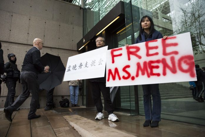 CANADA-CHINA-US-DIPLOMACY-TELECOM-HUAWEI-COURT-EXTRADITION