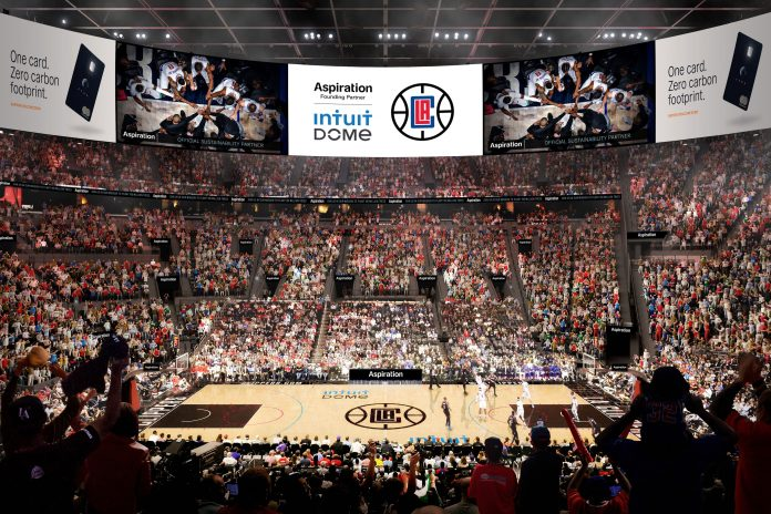 LA Clippers, Aspiration sign $300-million-plus arena sponsor deal