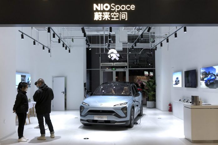Nio and Xpeng deliveries fall in August as chip shortage hits