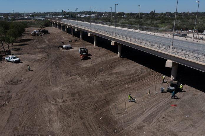 No migrants remain at camp under bridge in Del Rio, Texas
