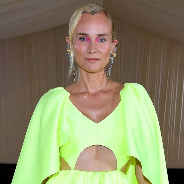 See Diane Kruger Debut Her Engagement Ring at the 2021 Met Gala
