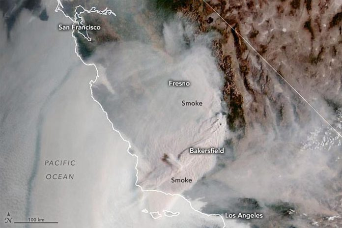 Southern California Fires September 2021 Annotated
