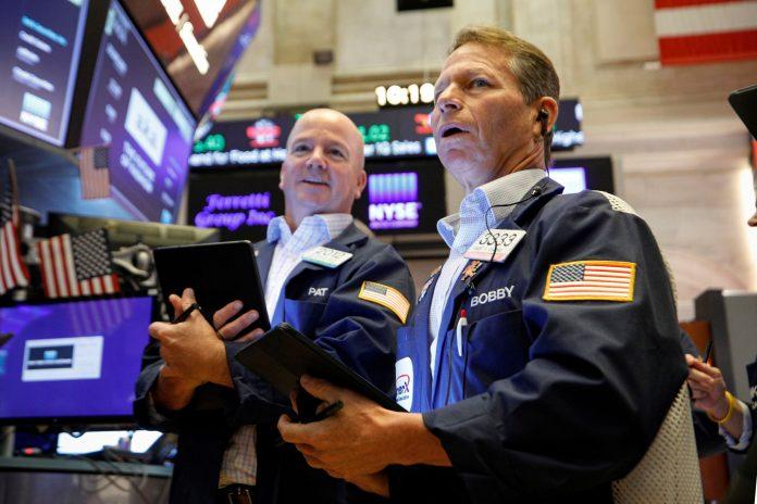 Stock futures fall as bond yields continue their upward trek