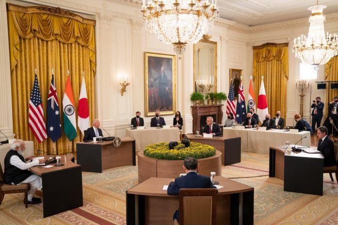 US, India, Japan, Australia statement on Indo-Pacific