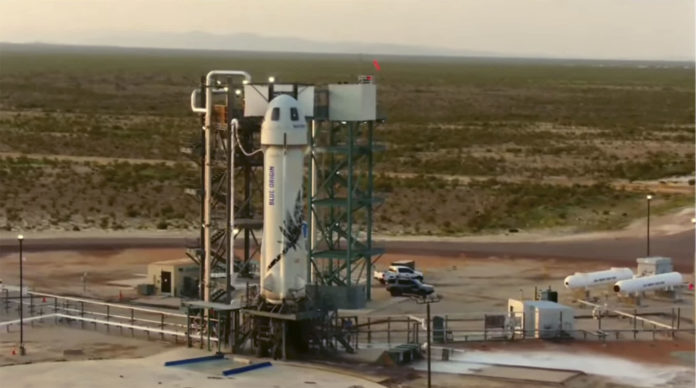 Jeff Bezos' Blue Origin launches William Shatner to space and back