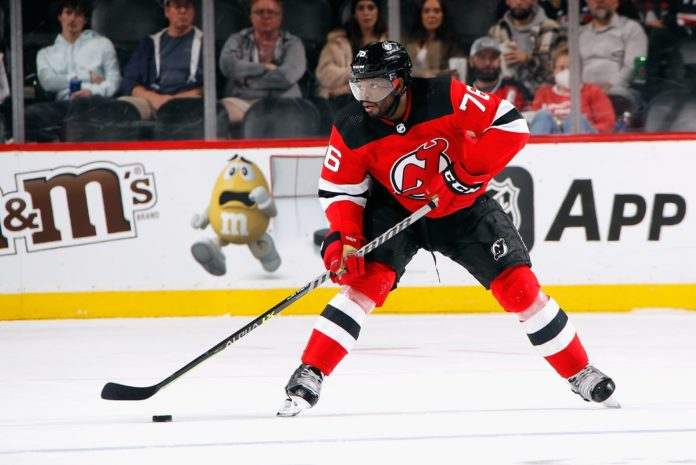 New Jersey Devils will feature Black-owned business logo on helmets