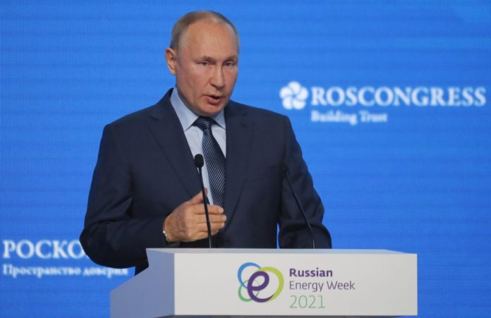 Putin says Russia is not using gas as a weapon, is ready to help Europe