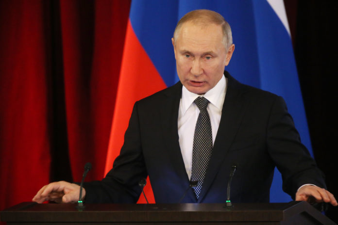 Russian President Vladimir Putin says he may not attend COP26